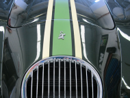 Streifendesign beim Wiesmann Roadster