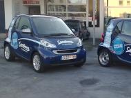 Vollverklebung (kurzfristige Car-Promotion)