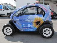 Elektrofahrzeug mit Vollverklebung